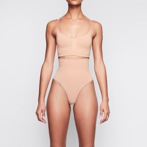 SKIMS Core Control Thong in Clay